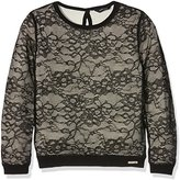GUESS Girl's LS Sweater-J64R24Z1100 Themal Top,S