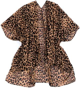 Shiraleah Xena Leopard Cover-Up