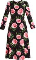 Dorothy Perkins FLORAL Summer dress blush/black