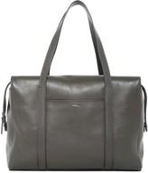 Shinola Leather Zip Satchel