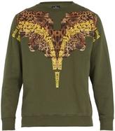 Marcelo Burlon County of Milan Tepenk cotton sweatshirt