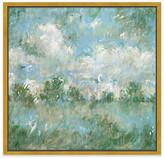 "One Kings Lane Laura Roebuck - Sea Sky in Verdigris Art - 30""L X 30""W"