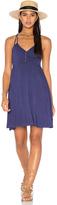 LAmade Asymmetric Wrap Dress