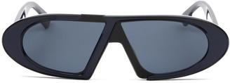 Christian Dior Oval Frame Sunglasses