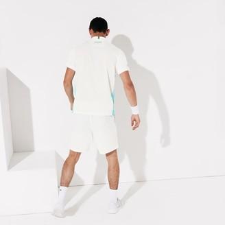 Lacoste Men's SPORT Roland Garros Color-Block Tech Shorts