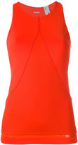 adidas by Stella McCartney Training tank top - women - Recycled Polyester/Polyester/Spandex/Elastane - M