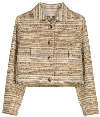 Vanessa Bruno Cotton Striped short Nebi jacket