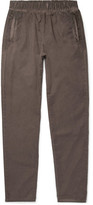 Bottega Veneta Slim-Fit Garment-Dyed Cotton Trousers
