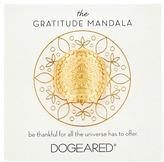 Dogeared Gratitude Mandala Center Flower Ring Ring