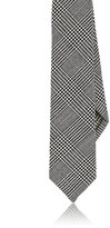Thom Browne Men's Glen Plaid Wool Necktie-BLACK