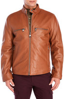 Andrew Marc Bedford Leather Motorcycle Jacket