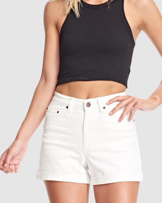 RES Denim Women's White Shorts - Kelly Short - Size One Size, 26 at The Iconic