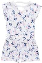 Splendid Floral Print Cotton Romper