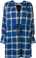 Roseanna check wrap dress - women - Cotton - S