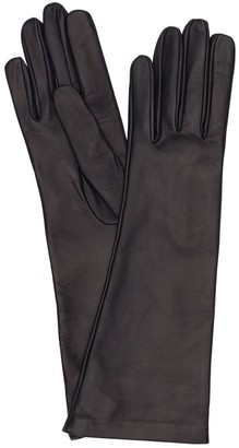 Mario Portolano Long Leather Gloves