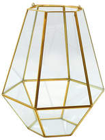 Torre And Tagus Designs Goldtone Oro Hexagon Hurricane Sculpture