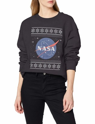 Brands In Limited Women's NASA Old Fair Isle Sweatshirt