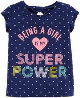 CARTERS Carter's Graphic T-Shirt-Toddler Girls