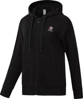 Reebok Women's Fleece Full-Zip Hoody