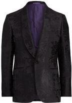 Ralph Lauren Purple Label Silk Jacquard Dinner Jacket