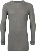 Rick Owens ribbed jumper - men - Virgin Wool - S
