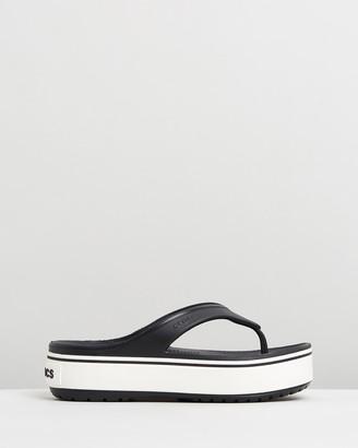 Crocs Crocband Platform Flip Flops