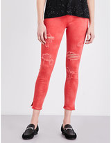 True Religion Runway cotton-blend jeggings