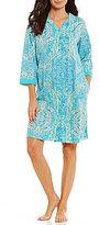 Miss Elaine Paisley Snap Robe
