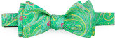Ted Baker Paisley Silk Bow Tie, Green