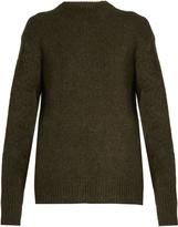 Tibi Oversized pleat-back sweater