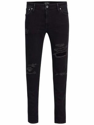 Jack and Jones Men's Jjiliam Jjoriginal Am 502 Lid Sts Skinny Jeans