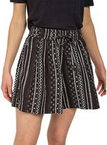 Fat Face Sketched Stripe Flippy Shorts, Phantom