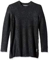 Scotch & Soda Men's Crewneck Pullover In Alpaca Wool Quality