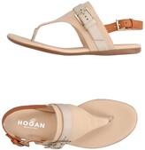 Hogan Toe strap sandals - Item 11211571