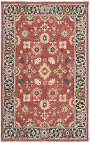Blue Area Newcastle Home Asher Vintage Bohemian Red and Rug, 8'x10'