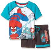 Marvel Boy's The Ultimate Spider Short Sleeve Clothing Set