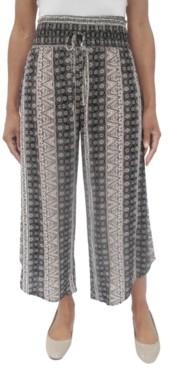 BeBop Juniors' Printed Cropped Soft Pants