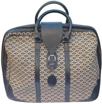 Goyard Black Cloth Travel bags