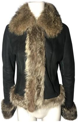 Ventcouvert Black Shearling Leather jackets