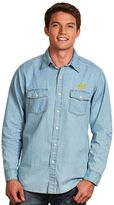 Antigua Men's Cal Golden Bears Chambray Button-Down Shirt