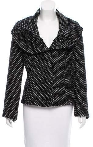 Armani Collezioni Tweed Shawl Collar Jacket w/ Tags