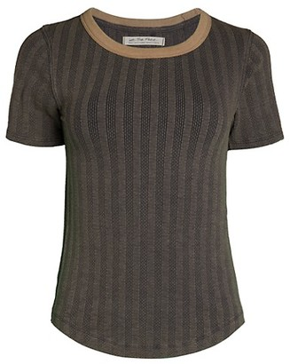 Free People Escape Knit T-Shirt