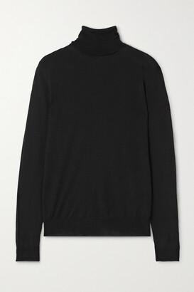 Stella McCartney - Virgin Wool Turtleneck Sweater - Black