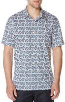 Perry Ellis Multi Paisley Printed Shirt