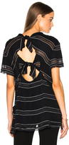 Proenza Schouler Pin Stripe Crepe Top
