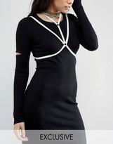 Reclaimed Vintage Inspired Velvet Strap Body Harness