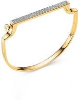 Monica Vinader Women's Signature Thin Diamond Bangle