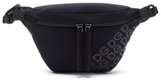 Dolce & Gabbana Logo Neoprene Belt Bag - Navy