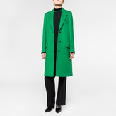 Paul Smith Women's Green Wool Epsom Coat