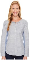 Woolrich Outside Air Eco Rich Shirt Women's Long Sleeve Button Up